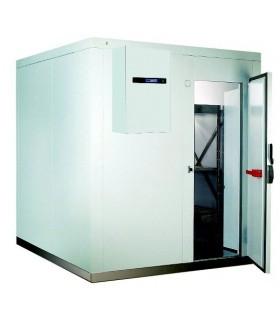 Chambre froide négative hauteur 2000 mm avec groupe monobloc
