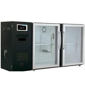 Arrière bar réfrigéré à écran tactile - capacité 223 litres