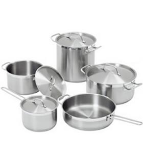 Set de casseroles de 9 pièces inox