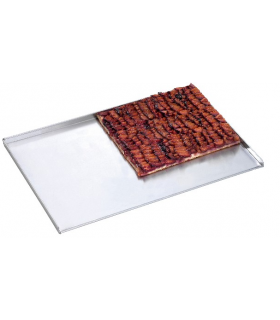 Lot de 4 plaques de cuisson L 600 x P 400 mm