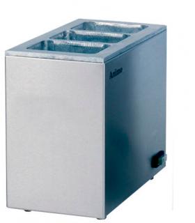 Chauffe boisson à sec spécifique pour brique en carton
