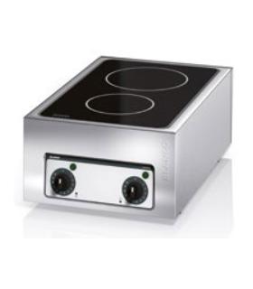 Option pour Frontcooking : plaque de cuisson vitrocéramique - PHOTO NON CONTRACTUELLE