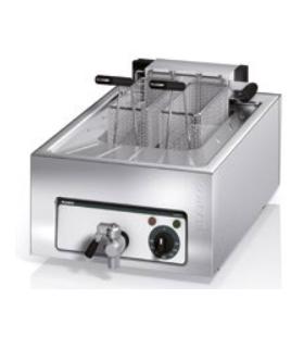 Option pour Frontcooking : friteuse électrique - modèle à 2 paniers - Photo non contractuelle