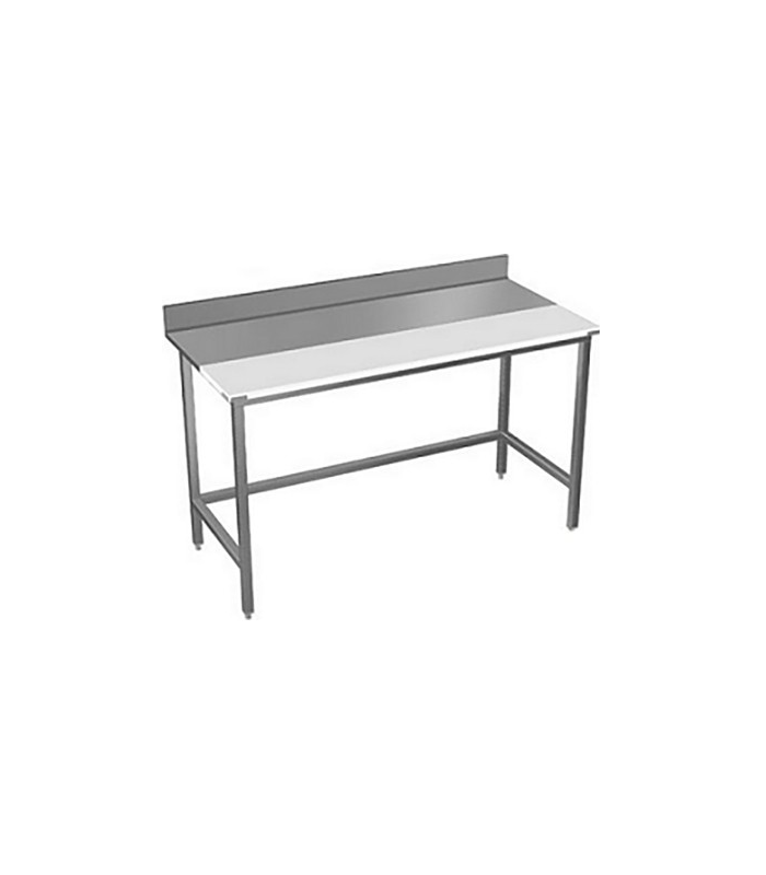 Table de d coupe inox et poly thyl ne materiel inox for Materiel inox professionnel