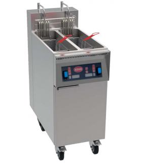 Friteuse électrique Mirror - 1 cuve de 22 litres ou 2 cuves de 11 litres