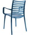 Lot de 4 tables et 16 fauteuils extérieur GROSFILLEX