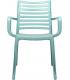 Fauteuil extérieur coloris bleu mint -  Photo non contractuelle