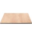Plateau de table carré compact pour extérieur - Gastronoble