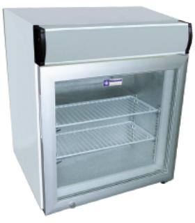 Mini armoire froid négatif avec caisson lumineux - Photo non contractuelle