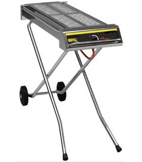 Grill barbecue à gaz pliable - Photo non contractuelle