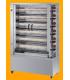 Rôtissoire gaz professionnelle de capacité 10 à 48 poulets
