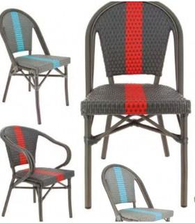 Lot de 2 chaises en extérieur