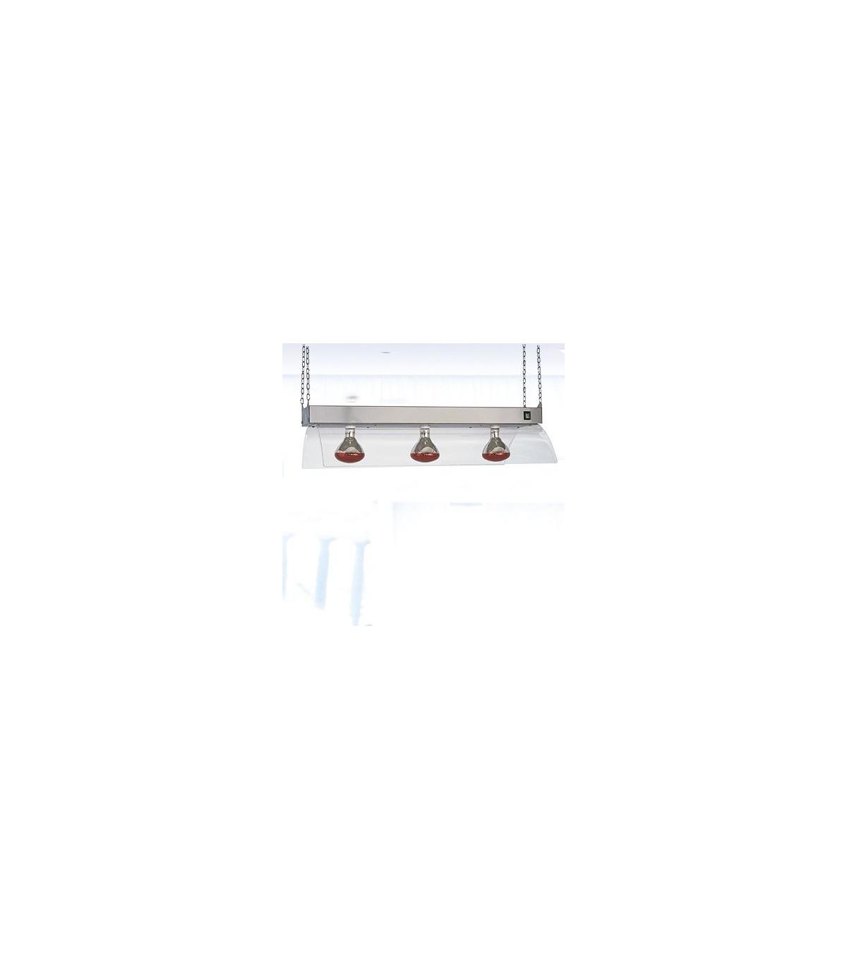 Lampe infrarouge en suspension mat riel cuisine pro - Lampe infrarouge cuisine ...