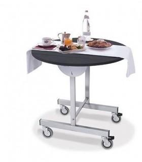 Table pour room service pliable