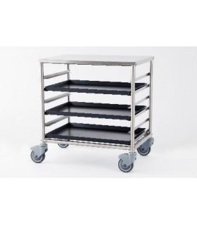 Chariot à glissière à boulangerie/pizzeria