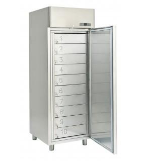 Armoire réfrigérée à casiers positive ou négative