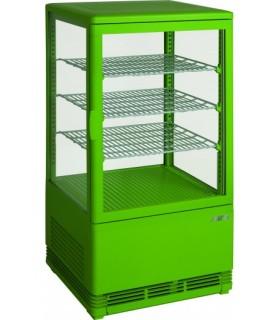 Mini-vitrine de présentation verte modèle SC 70 - SARO