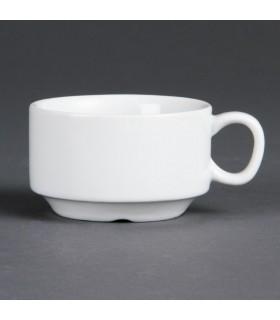 Boîte de 12 tasses à café empilables 85 ml - Olympia