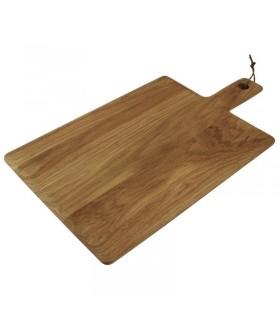 Planche carré en chêne finition rustique huilée - Olympia