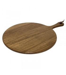 Planche ronde en acacia - Olympia