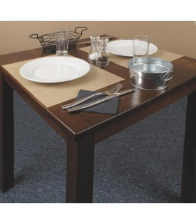 Lot de 500 sets de table jetables en papier kraft 300 x 400 mm