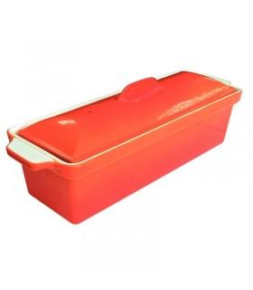 Terrine à pâté en fonte orange 1.7L - Vogue