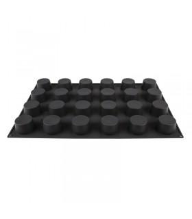 Moule à pâtisserie antiadhésif en silicone 24 muffins - Pavoflex