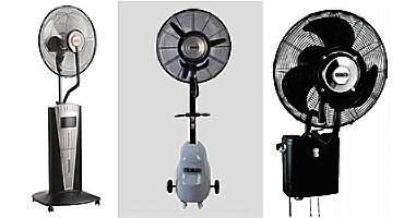 ventilateur brumisateur extérieur
